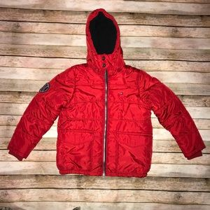 Youth Tommy Hilfiger puffer Jacket detachable Hood